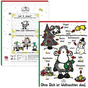 Adventskalender - Sheepworld - Ohne dich ist Weihnachten doof