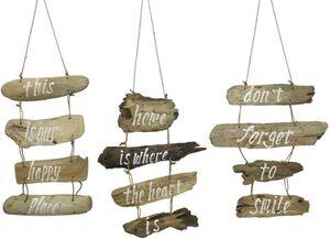 Dekohänger - Schild - aus Holz - 45 x 40 x 4 cm - 1 Stück