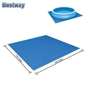 Bestway #58002 Pool-Bodenschutzplane 3,96x3,96m