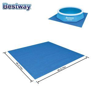 Bestway #58000 Pool-Bodenschutzplane 2,74x2,74m