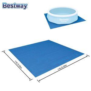 Bestway #58001 Pool-Bodenschutzplane 3,35x3,35m