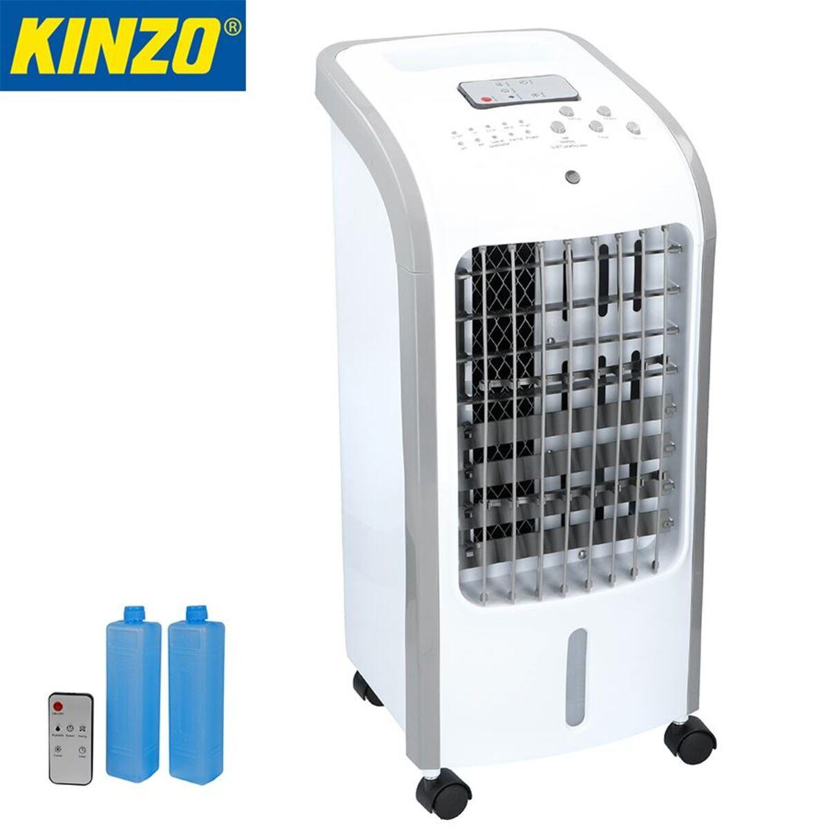 Bild 1 von Kinzo Kühllüfter 80W mit 2 Kühlpacks und Fernbedienung