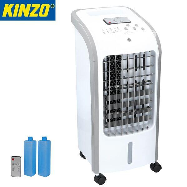 Kinzo Kühllüfter 80W mit 2 Kühlpacks und Fernbedienung