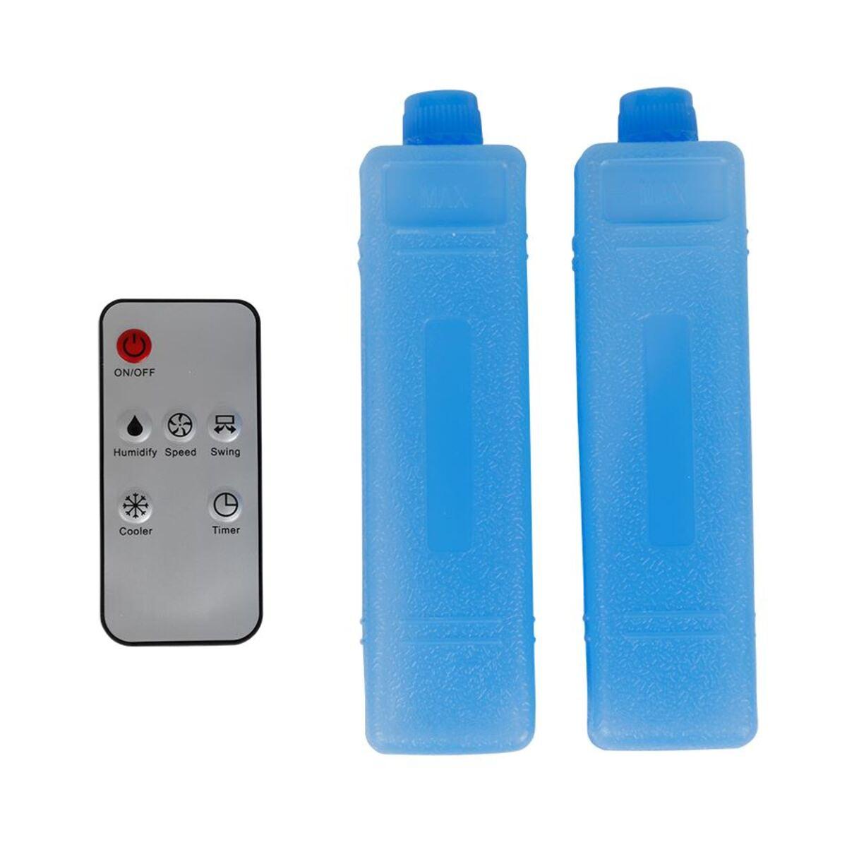 Bild 3 von Kinzo Kühllüfter 80W mit 2 Kühlpacks und Fernbedienung