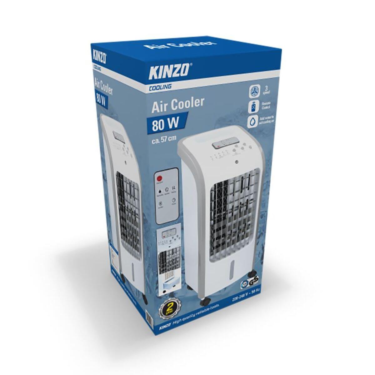 Bild 4 von Kinzo Kühllüfter 80W mit 2 Kühlpacks und Fernbedienung