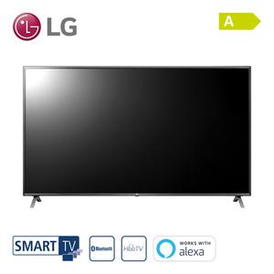 86UN85006LA • NanoCell-TV • TV-Aufnahme über USB • 4 x HDMI, 3 x USB, CI+ • integr. Kabel-, Sat- und DVB-T2-Receiver • Maße: H 111,8 x B 194,3 x T 9,4 cm • Energie-Effizienz A (Spektrum