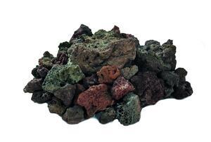 Elementi Lavasteine rötlich Gas-Feuerstelle 3kg