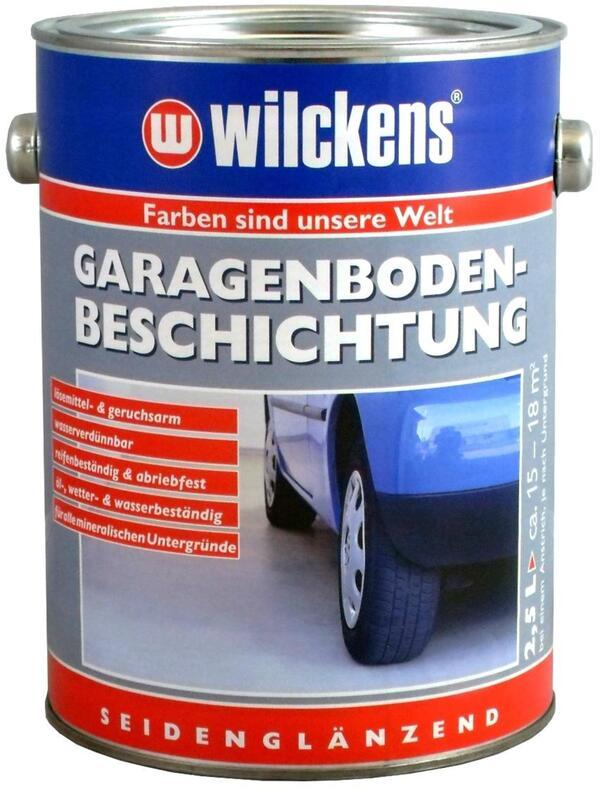 Wilckens Garagenboden-Beschichtung Silbergrau