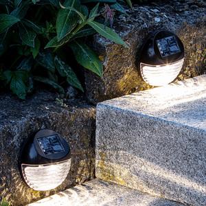 Duracell LED-Solar-Treppenlampe, 4er Set
