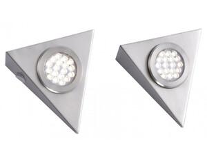 LED-Unterbauleuchte 1119-55-2 2er-Set silberfarbig
