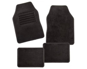 Universal-Autofußmatten Misano 4tlg. schwarz