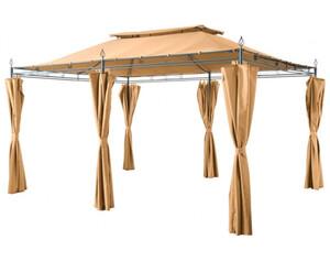 Grasekamp Pavillon Inca beige 3x4m
