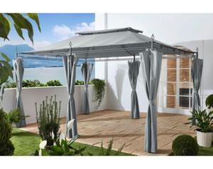 Grasekamp Pavillon Inca grau 3x4m