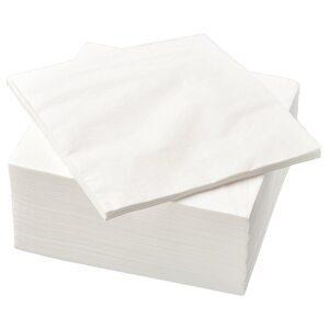 FANTASTISK                                Papierserviette, weiß, 40x40 cm