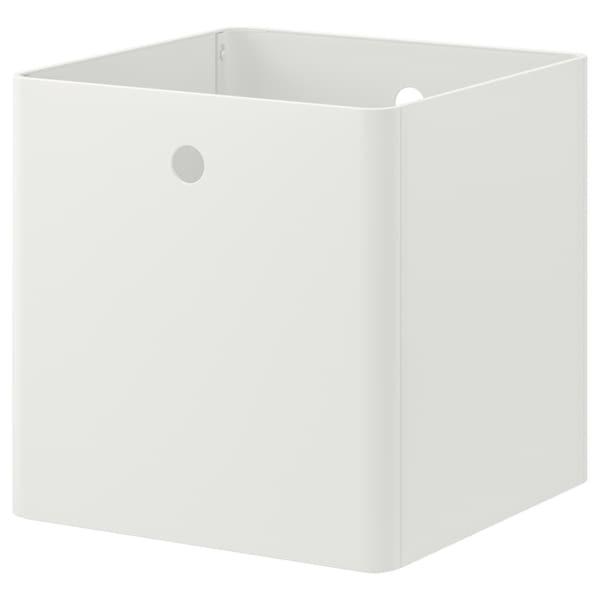 KUGGIS                                Box, weiß, 30x30x30 cm