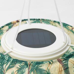 SOLVINDEN                                Solarhängeleuchte, LED, für draußen, oval Palmen, 60 cm