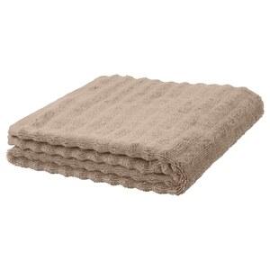 FLODALEN                                Handtuch, beige, 50x100 cm