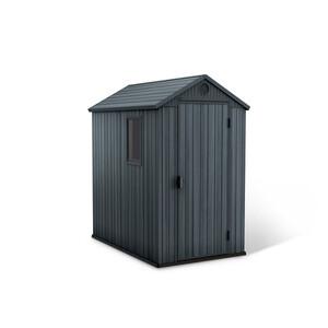 Keter Gerätehaus 'Darwin 6x4' grau/anthrazit 125,8 x 184,5 x 205,1 cm