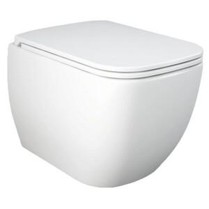 toom Wand-WC 'Metropolitan' spülrandlos weiß 36 x 36 x 55 cm