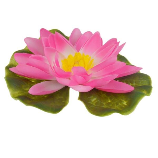 Gardena Seerose Kunststoff Ø13 cm rosa