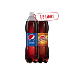 Pepsi Cola** oder Schwip Schwap**
