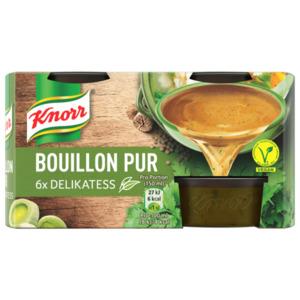 Knorr Bouillon Pur Delikatess Brühe 6 x 500 ml