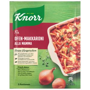 Knorr Fix Ofen-Makkaroni Alla Mamma für 3 Portionen