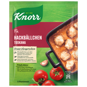 Knorr Fix Hackbällchen Toskana für 3 Portionen
