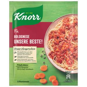 Knorr Fix Bolognese Unsere Beste für 3 Portionen