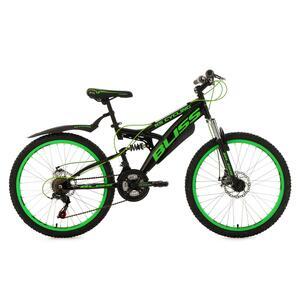 KS Cycling Jugendfahrrad Mountainbike Fully Bliss 24 Zoll für Jungen
