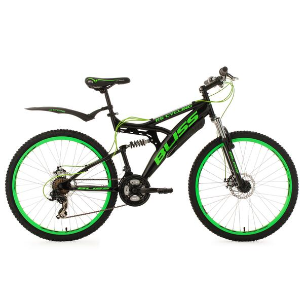 KS Cycling Fully Mountainbike Bliss 26 Zoll für Herren