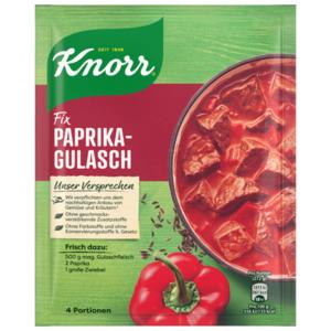 Knorr Fix Paprika-Gulasch für 4 Portionen