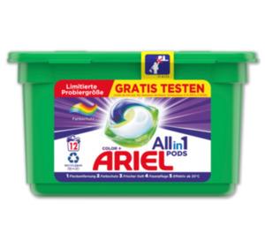 ARIEL Waschmittelpods