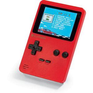 Silvergear tragbare Retro Spielekonsole - rot