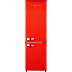 Wolkenstein KG250.4 RT A++ FR Retro-Kühl-Gefrierkombination 177 cm rot