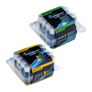 TOP CRAFT  	   Alkaline Batterien Multipack