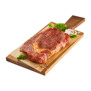 BBQ  	   Rib-Eye-Steak