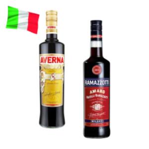 Ramazzotti Amaro, Aperitivo Rosato oder Averna Amaro Siciliano