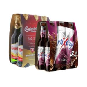 Karlsberg Mixery oder Budweiser