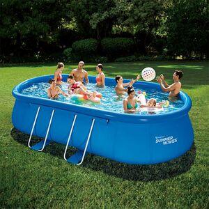 Summer Waves Quick-Up-Pool Komplettset