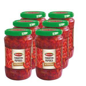 Beste Ernte Tomatenpaprika in Streifen 165 g, 6er Pack