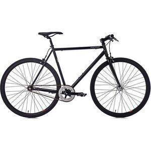 KS Cycling 28 Fahrrad Fixie Singlespeed Flip Flop schwarz