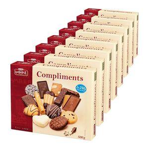 Lambertz Gebäckmischung Compliments 500 g, 8er Pack