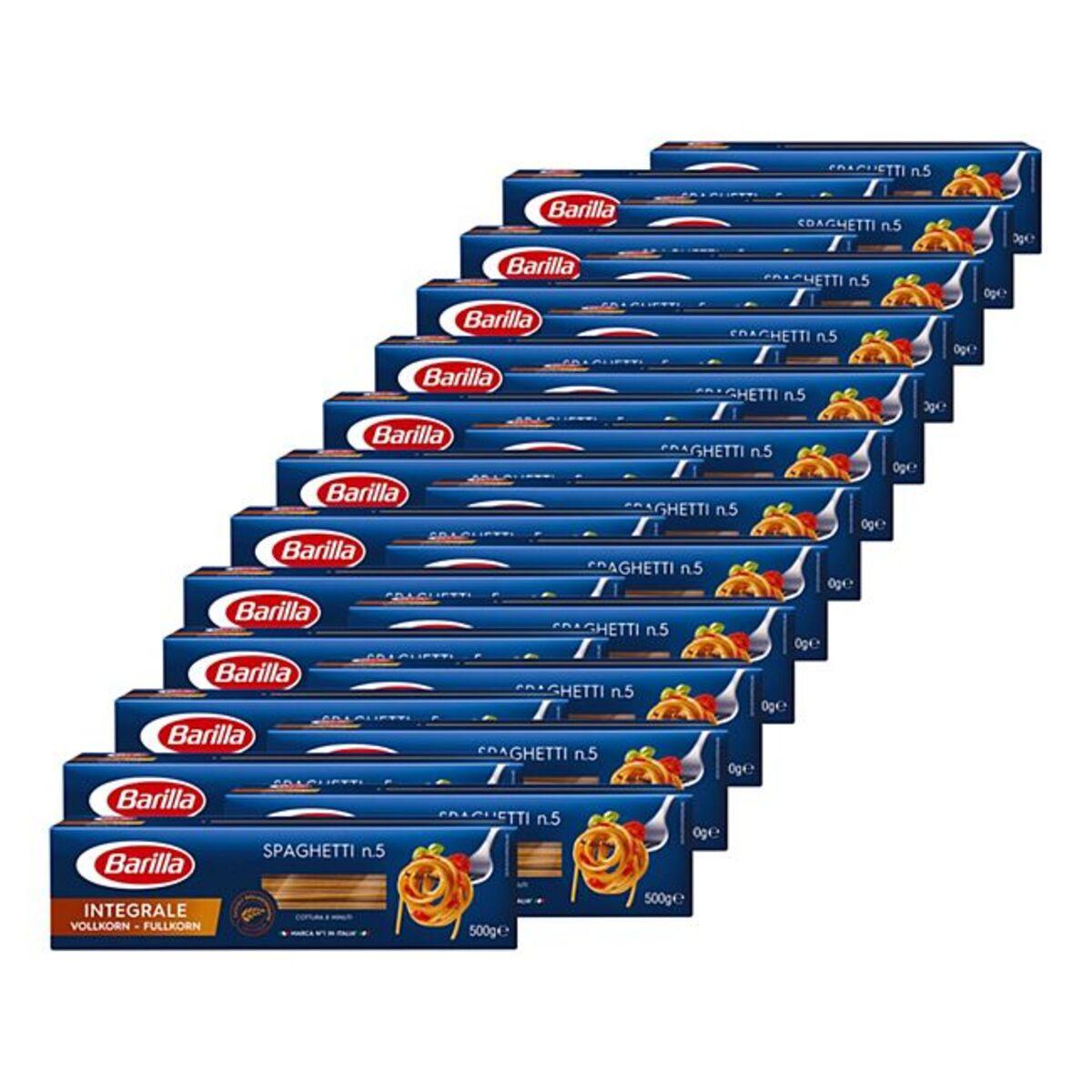 Bild 1 von Barilla Integrale Vollkorn Spaghetti 500 g, 24er Pack