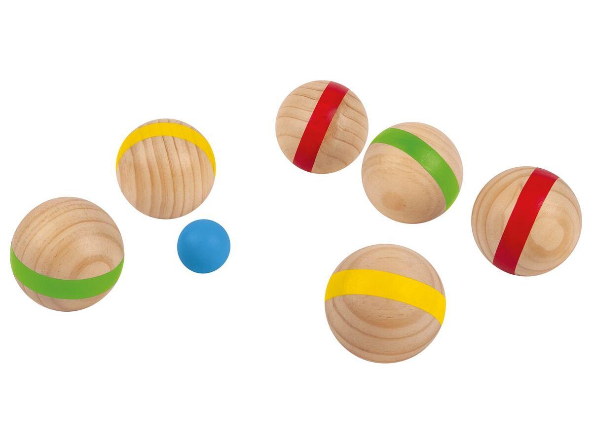 Bild 2 von PLAYTIVE® Holzspielzeug Kinder, Outdoor, mit Transporttasche, ab 3 und 6 Jahren