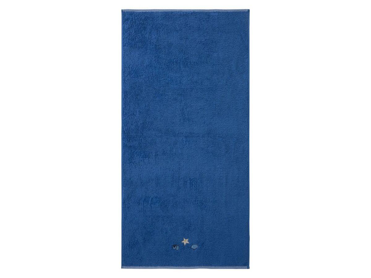 Bild 5 von MERADISO® Duschtuch, 70 x 140 cm, maritime Stickerei, aus reiner Baumwolle