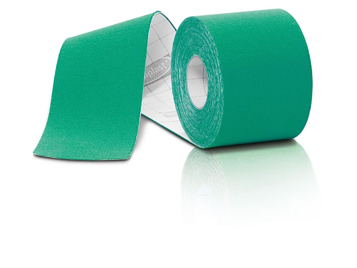 Bild 3 von SENSIPLAST® Kinesiologie-Tapes, 4 Rollen, wasserabweisend, atmungsaktiv, mit Baumwolle