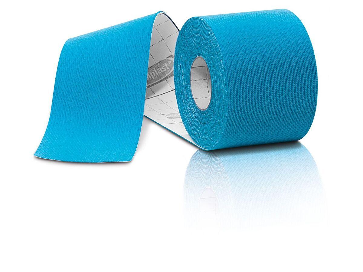 Bild 4 von SENSIPLAST® Kinesiologie-Tapes, 4 Rollen, wasserabweisend, atmungsaktiv, mit Baumwolle