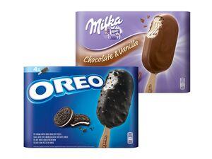 Oreo/Milka/Toblerone/Daim Stieleis