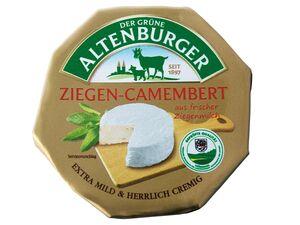 Der Grüne Altenburger Ziegen-Camembert